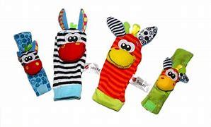 مشخصات ست مچ بند و جوراب جغجغه ای SOZZY