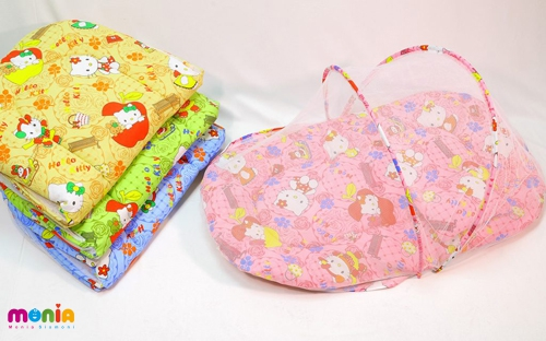 قیمت خرید انواع پشه بند نوزاد