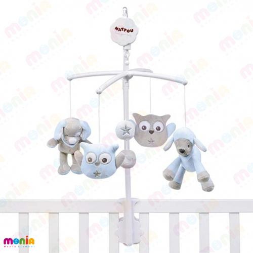 خرید آویز بالای تخت نوزاد موزیکال
