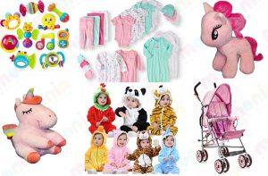 لیست سیسمونی نوزاد با قیمت